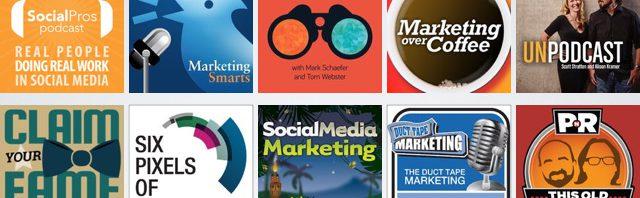 11 marketing podcasts