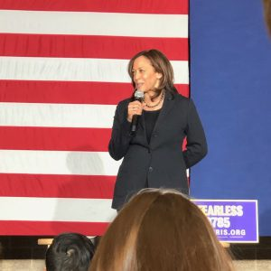 kamala harris iowa